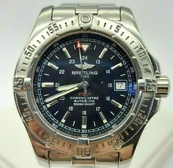 Genuine Breitling Colt 41 Automatic Stainless Steel Bracelet Aviation