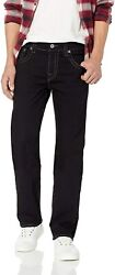 True Religion Menand039s Ricky Big T Straight Jean With Back Flap Pocket