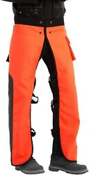 Chainsaw Chaps Apron Wrap 8-layer For Men/women Loggers Forest Workers Protectiv