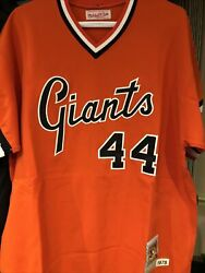 1978 Willie Mccovey Mitchell And Ness San Francisco Giants Jersey Size 48