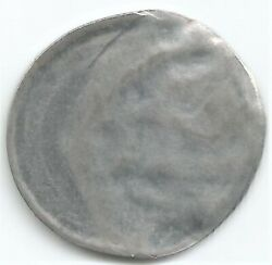 India Re 1, Error Coin 2019, 'off Center Strike' With A 'die Cap' S44