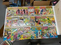 Dc Comics Mystery In Space 76-110 1951 Vg/vg+ Bagged Boarded