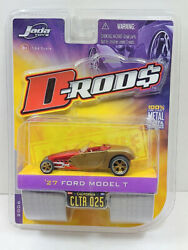 Jada Toys D-rods 27 1927 Ford Model T Hot Rod 2006 Wave 3 164 Die-cast New
