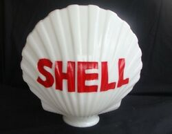 Reproduction Shell Gas Pump Globe / Gas Pump Globes / Shell Gas Gas And Oil