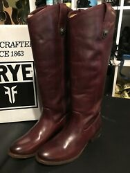 Frye- Melissa Button Boots- Extended Calf- Size 7 Nib