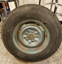 1963 Chevrolet Impala Original Spare Tire And Rim Us Royal Vintage