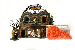 Department 56 Snow Village 2001 Haunted Fun House 55094 Carnival Animated