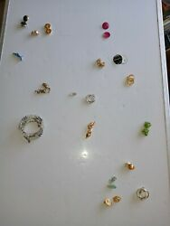 17 Pc Vintage/now Wearable No Junk Drawer Jewelry Unsearcheduntested Freeusaship