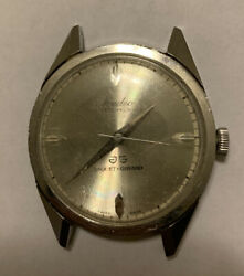 Vintage Medco Jaquet Girard 17 Jewels Watch Swiss Wind Up No Band Working