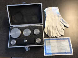 Troemner Calibration Stainless Steel Test Set. Class F W/nvlap 1mg-2kg