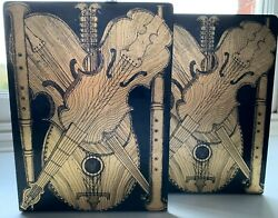 Rare Vintage Pair Of Fornasetti And039strumenti Musicaliand039 Bookends Pair 2