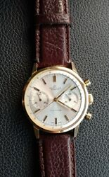 Vintage Gold Plated Breitling Top Time Geneve Watch
