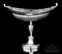 Antique Solid-silver Incense Navette Or Boat. Italy Papal States. Circa 1880