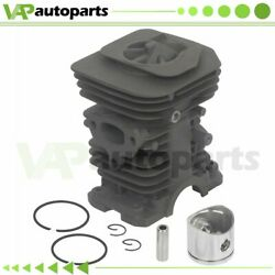 For Husqvarna 136 137 141 142 Chainsaw 38mm Cylinder Piston Ring And Pin Kit
