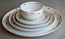 Rosenthal Century Gold For 12 - 6 Pc Place Setting- 1980