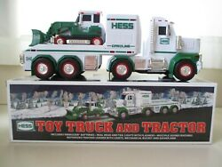 2013 Hess Toy Truck And Tractor - Front End Loader / Backhoe - New In Box
