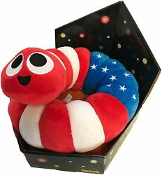 Official Slither.io Jumbo 24 Bendable Plush Toy Patriot American Flag Game Gift