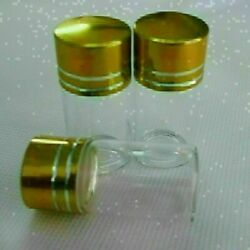 30pcs 22x40mm 7ml Bottles Glass With Screw Cap Vials Tiny Small New Clear Empty