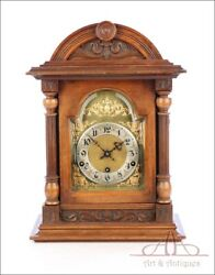 Antique Mantel Pendulum Clock With Westminster Repeater. Germany Circa 1900