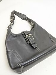 COACH HAMILTON Hobo Women's Soft Leather Shoulder Bag # 7463 Black $44.99