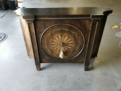Ferguson Copeland Hall/foyer Commode/chest W/ Faux Marble Top Free S/h Most Usa