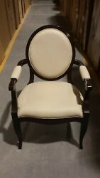 Set Of Four Councill Craftsman Leather Arm Chairs Free White Glove S/h Most Usa