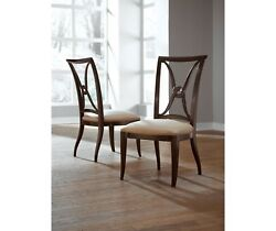 Thomasville Furniture Studio 455 Dining Side Chair Set Of 4 Free Ship Most Usa