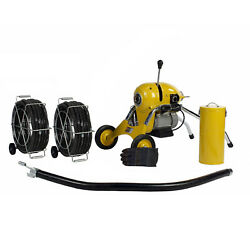 Steel Dragon Toolsandreg K1500b Drain Cleaner Cleaning Machine 120and039 C11 Snake Cable