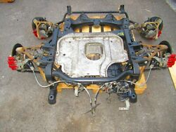 2002 Honda S2000 Ap1 Front And Rear Subframes Differential, Brakes, Spindles, Axle