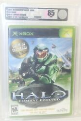 Microsoft Xbox Halo Combat Evolved Game Of Year Edition Video Game Vga 85 Nm+