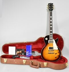 2019 Gibson Les Paul Traditional Tobacco Burst Finish Electric Guitar W/ohsc