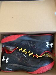 Maryland terrapins basketball Clutchfit Drive 2 shoes Men Size 13 Worn Only Once $70.00