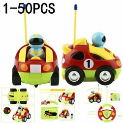 Lot Kids Baby Toddlers Cartoon Astronaut R/c Race Car Radio Control Toy Gift Xe