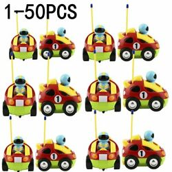 Lot Cartoon R/c Race Car Radio Control Toy For Toddlers English Kids Gift Ex