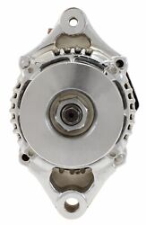 Self Excited 1 Wire Hookup Chrome Mini 70 Amp Alternator Fits Race Car Hot Rod