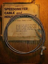 Nos Speedo Cable1937-42 Buickcadillaclasallehudsonolds.pont.chevyfederal