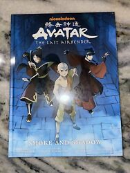 Avatar - The Last Airbender Smoke And Shadow Hardcover By Yang Gene Luen...
