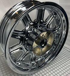 Indian Chieftain Chrome Rear Oem Wheel 2014 -20 1522506-440 Mag Rim Outright