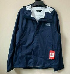 The North Face Mens Venture 2 Light Weight Waterproof Rain Jacket Urban Navy $49.99