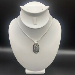 Haida Sterling Silver Hummingbirds Pendant By James Mcguire