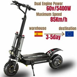 60v5600w Electric Scooter 11 Inch Folding High-speed Off-road Dual-drive Adult E