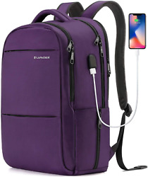 LAPACKER 15.6 17 inch Business Laptop Backpacks for Women Mens Water Resistant $48.28