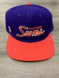 Rare Deadstock Fitted Phoenix Suns Sports Specialties Script Hat 90s Size 7-1/2