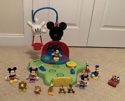 2007 Disney Mickey Mouse Talkin Clubhouse Playset - Rare