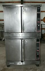 Garland Master 410 Double Stack Convection Ovens Natural Gas
