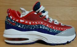 Nike Air Max 95 Ps Size 2 Youth 2y Ugly Christmas Sweater Kids Shoe Ct1594-100