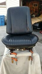 1968 Gto Front Driver Side Power Bucket Seat And Non Power Passenger Seat
