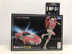 33445 Transformers Takara Tomy Mp-51 Acree With Collectible Pin