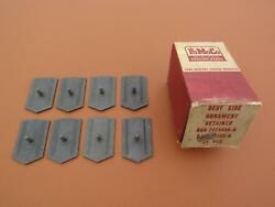 56 1956 Ford Set Of 8 Nos Side Body Trim Molding Clips In Box B6a 7025686-a