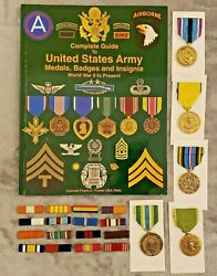 Decorations Medals Ribbons Badges And Insignia Of The United States Arm+ Medals